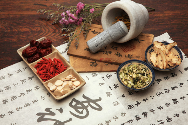 Herbs used as part of traditional Chinese medicine